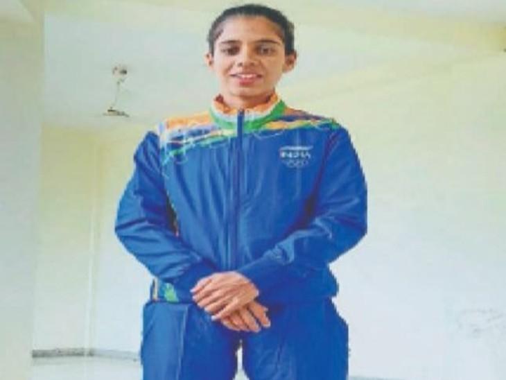 11 साल में तय किया जिला स्तर से ओलिंपिक का सफर, आज टोक्यो जाएंगी, जीत के लिए लोगों ने किया यज्ञ-हवन|राजसमंद,Rajsamand - Dainik Bhaskar