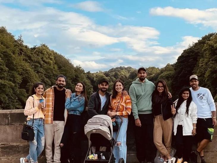 विराट कोहली, बेटी वमिका और केएल राहुल-आथिया के साथ डरहम में वैकेशन एंजॉय कर रही हैं अनुष्का शर्मा, बोलीं- 'हम साथ-साथ हैं'|बॉलीवुड,Bollywood - Dainik Bhaskar
