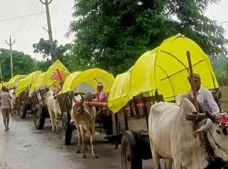 दंतेवाड़ा में कटेकल्याण से कुआकोंडा तक 40 किमी में निकलेगी रैली, पारंपरिक वेशभूषा में होंगे सभी; देवगुड़ी के लिए होगा भूमिपूजन जगदलपुर,Jagdalpur - Dainik Bhaskar