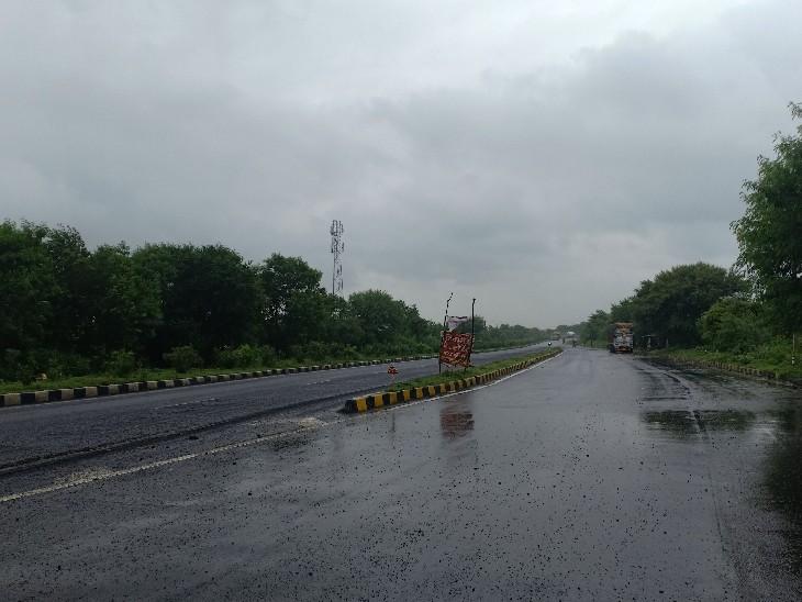 सागर जिले में सुबह से रिमझिम बारिश का दौर जारी। - Dainik Bhaskar