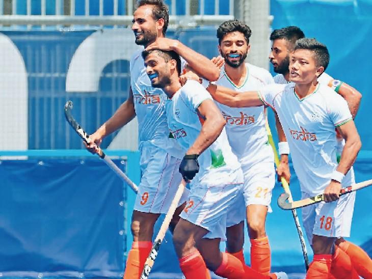 वरुण ने किया पहला गोल; अंतिम 2 मिनट में 2 गोल, चैंपियन अर्जेंटीना धराशायी|जालंधर,Jalandhar - Dainik Bhaskar