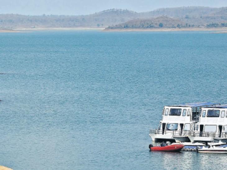 पानी आने की रफ्तार कम, नहीं खुलेंगे बरगी डैम के गेट|जबलपुर,Jabalpur - Dainik Bhaskar