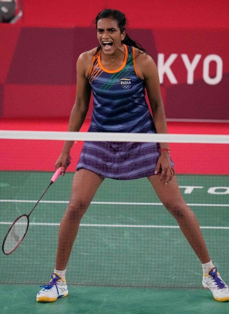 सिंधु इस ओलिंपिक में पहले की तुलना में काफी इम्प्रूव्ड खिलाड़ी नजर आ रही हैं।