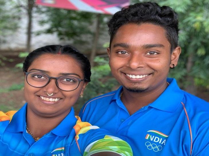 भारत की दीपिका कुमारी और अतनु दास, जिन्होंने टोक्यो ओलिंपिक में जाने से कुछ ही समय पहले शादी की है। अब ओलिंपिक में भी इनसे काफी उम्मीदें हैं।