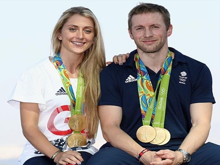 लारा और जेसन केनी पति-पत्नी हैं। दोनों ब्रिटेन के साइकिलिस्ट हैं और साथ मिलकर अब तक 10 गोल्ड जीत चुके हैं।