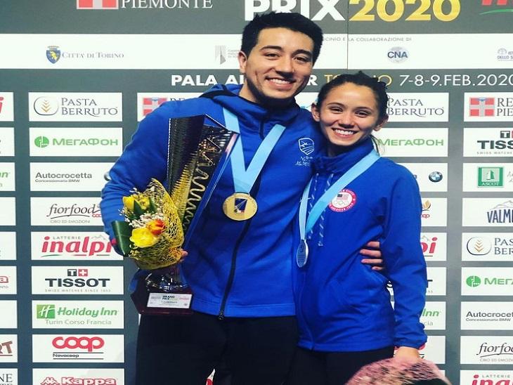 अमेरिका की मेंस फेंसिंग टीम के गेरेक मेनहार्ड और विमेंस फेंसिंग टीम की ली कीफर शादीशुदा हैं। दोनों टोक्यो ओलिंपिक में साथ आए हैं।