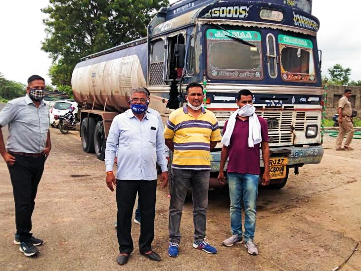खेरोदा में बड़ी मात्रा में अवैध बायोडीजल किया जब्त, एक आरोपी गिरफ्तार; कार्रवाई जारी|उदयपुर,Udaipur - Dainik Bhaskar