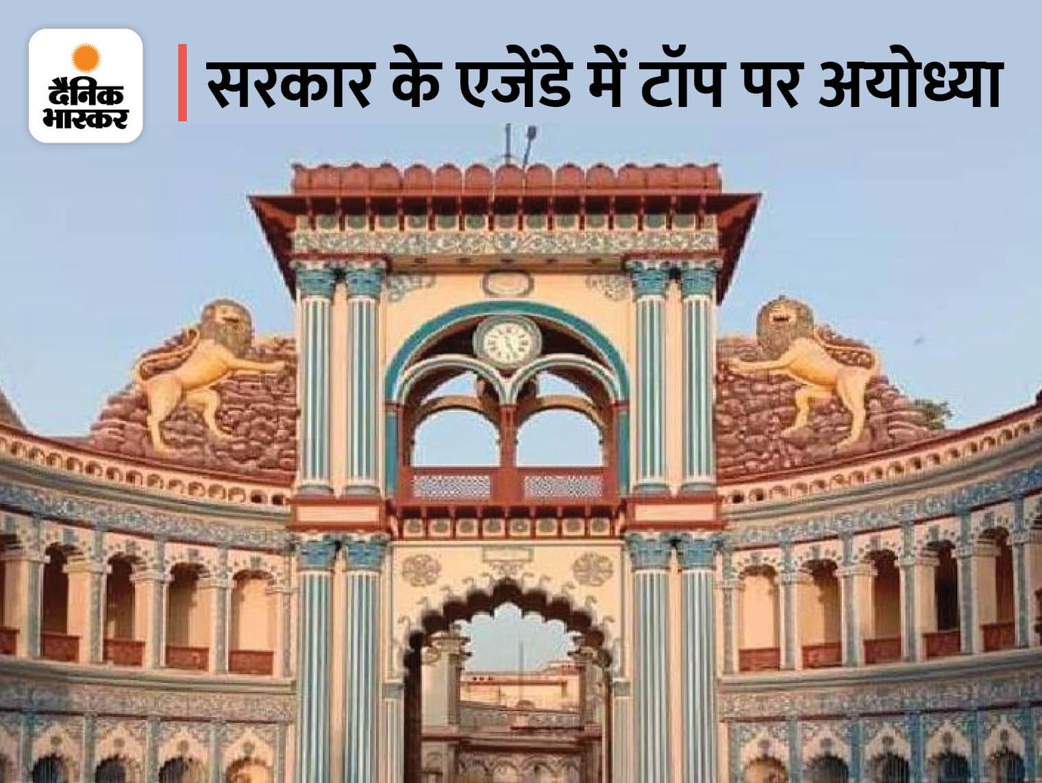 37 ऐतिहासिक मंदिरों को विश्व के पर्यटन मानचित्र पर लाएगी योगी सरकार, 108 कुंड और सरोवरों का भी होगा विकास; केंद्र को भेजा प्रस्ताव अयोध्या (फैजाबाद),Ayodhya (Faizabad) - Dainik Bhaskar