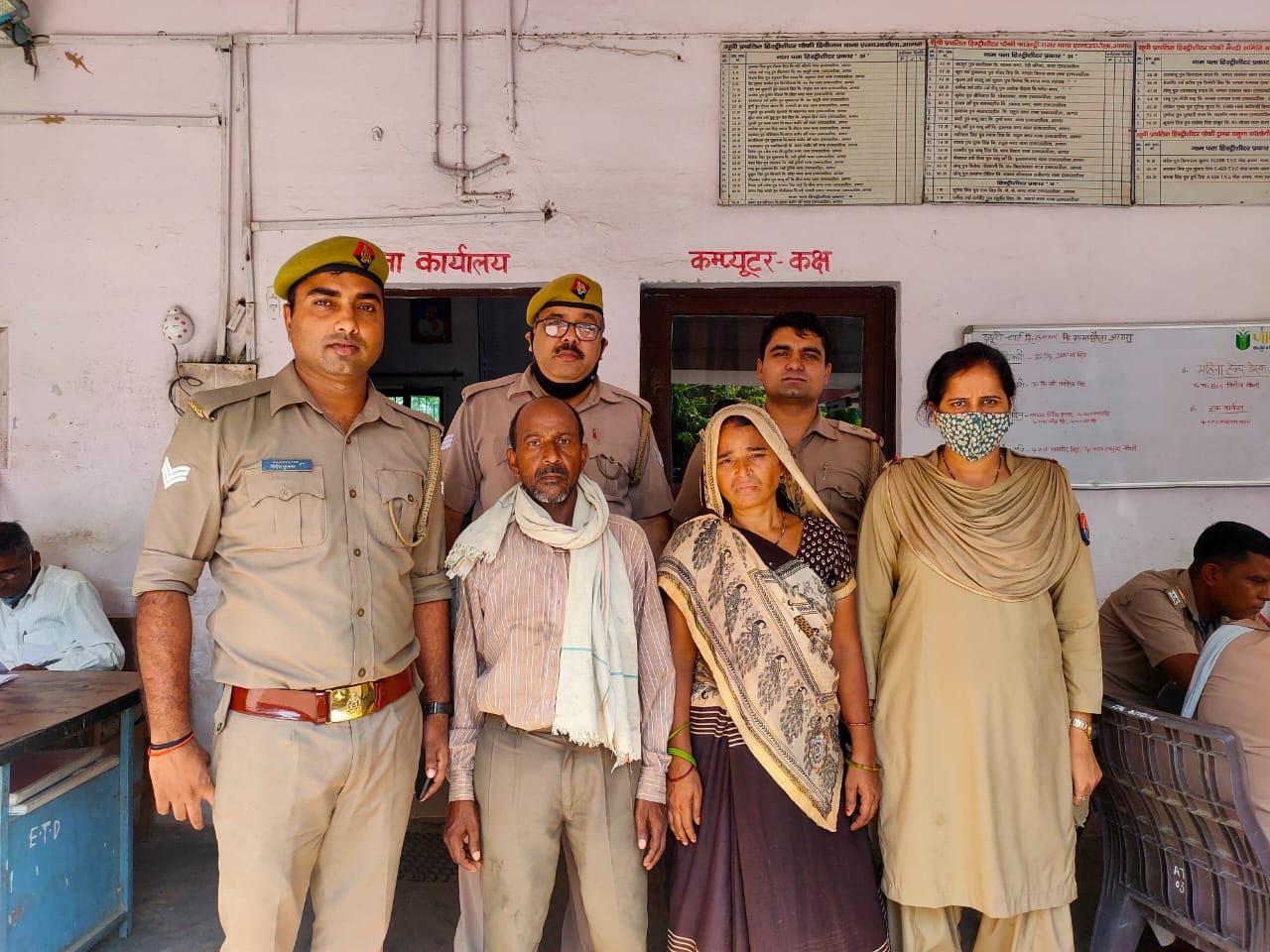 यमुना में कूदी महिला को बचाकर पति के हवाले किया, घर से गायब बच्चे को परिवार से मिलाया|आगरा,Agra - Dainik Bhaskar