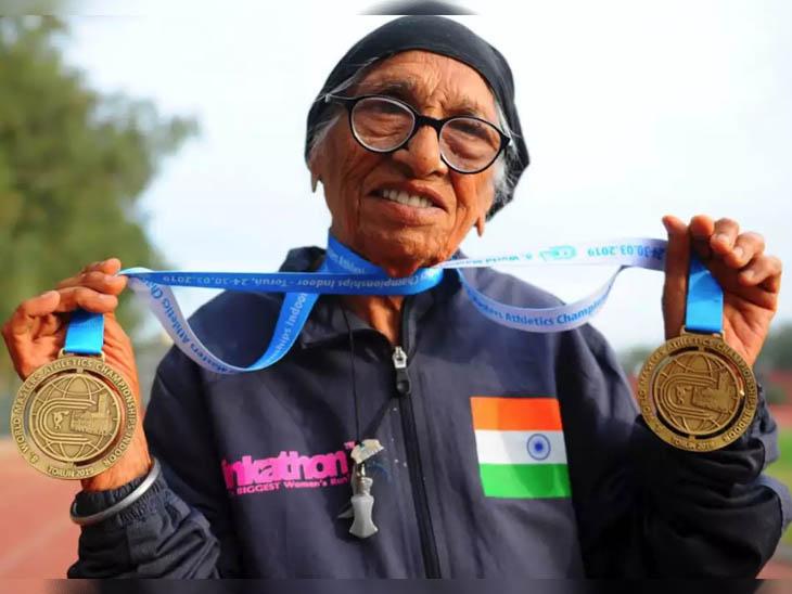 महान एथलीट मान कौर का फाइल फोटो। - Dainik Bhaskar
