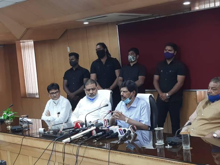 केंद्रीय मंत्री रामदास अठावले ने 2022 चुनाव के लिए मांगी BJP से सीटें, कहा- क्षत्रियों को भी मिले आरक्षण,हम ही हैं BSP का विकल्प|लखनऊ,Lucknow - Dainik Bhaskar