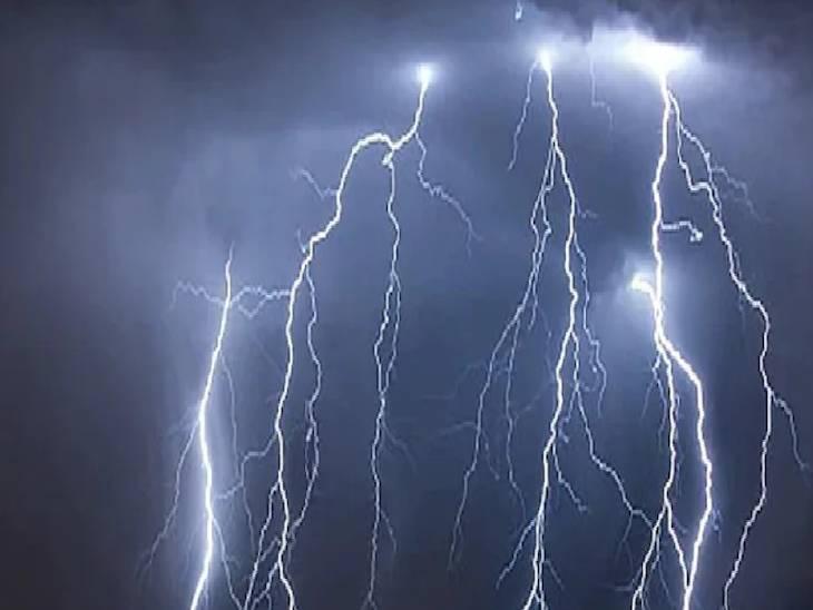 आकाशीय बिजली की चपेट में आए वृद्ध ने तोड़ा दम, बोलेरो के कुचलने और बारिश के गड्ढे में डूबने से मासूम काल के गाल में समाई|रीवा,Rewa - Dainik Bhaskar
