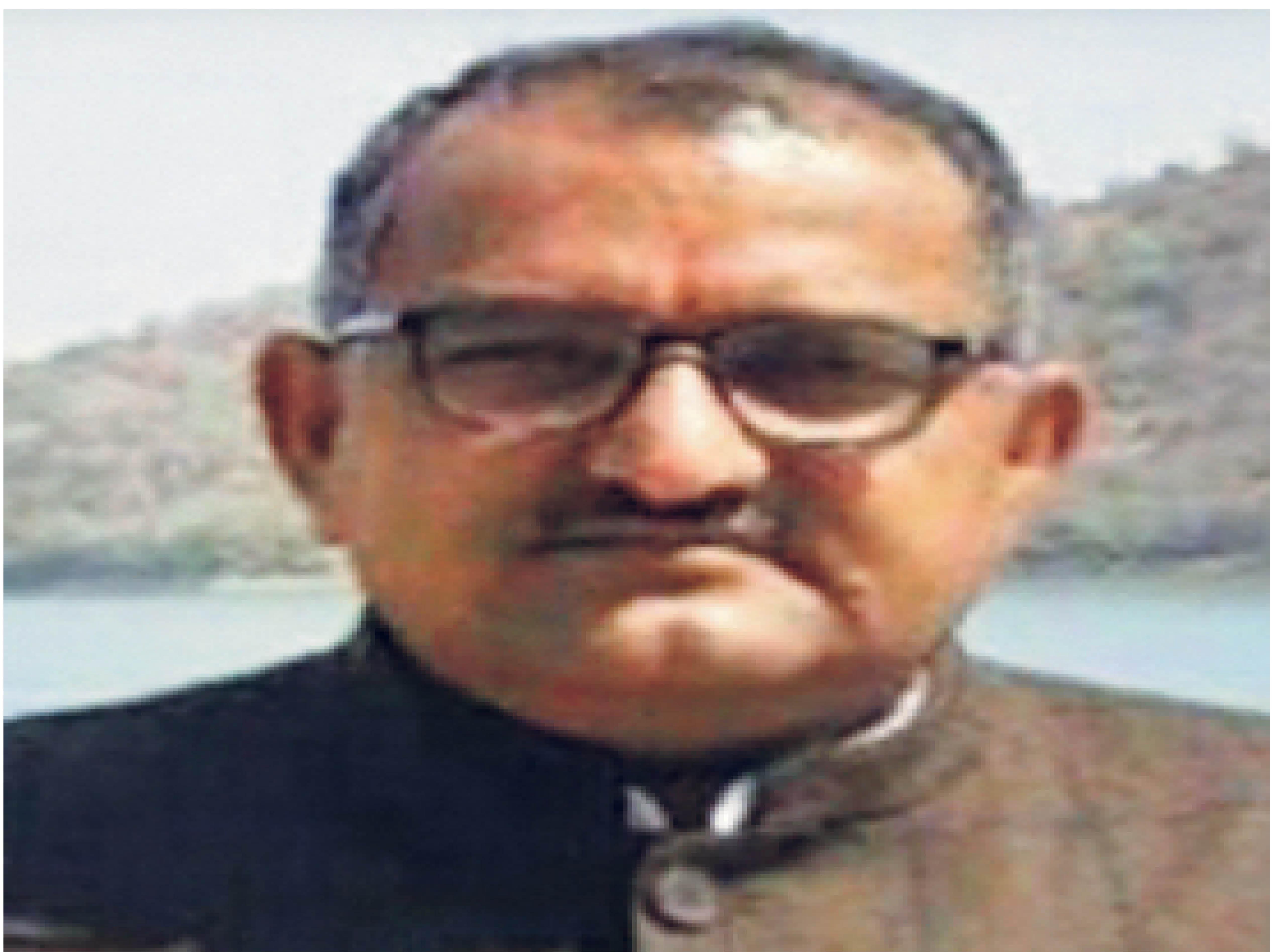 राष्ट्रीय स्वयं सेवक संघ के क्षेत्रीय प्रचारक निंबाराम - Dainik Bhaskar