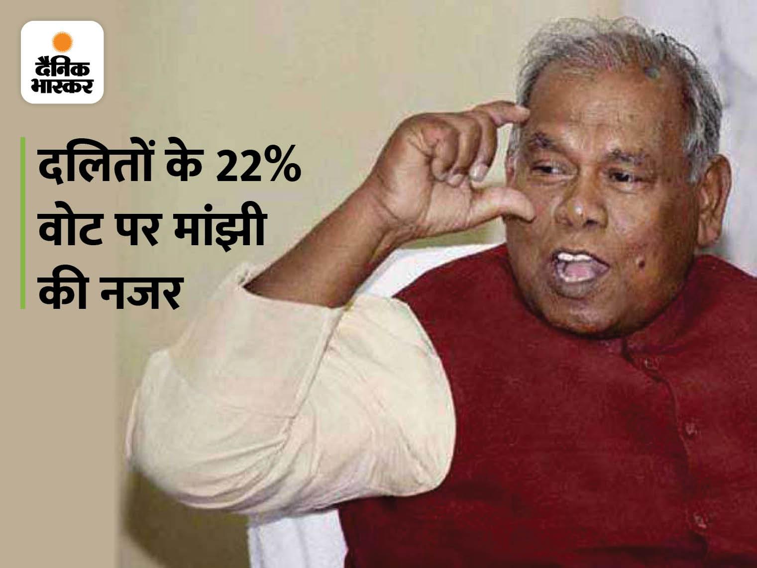 VIP के बाद अब बिहार की HAM पार्टी की यूपी में एंट्री, लखनऊ पहुंचे जीतनराम मांझी के बेटे; बोले- हम यहां भी चुनाव लड़ेंगे|लखनऊ,Lucknow - Dainik Bhaskar
