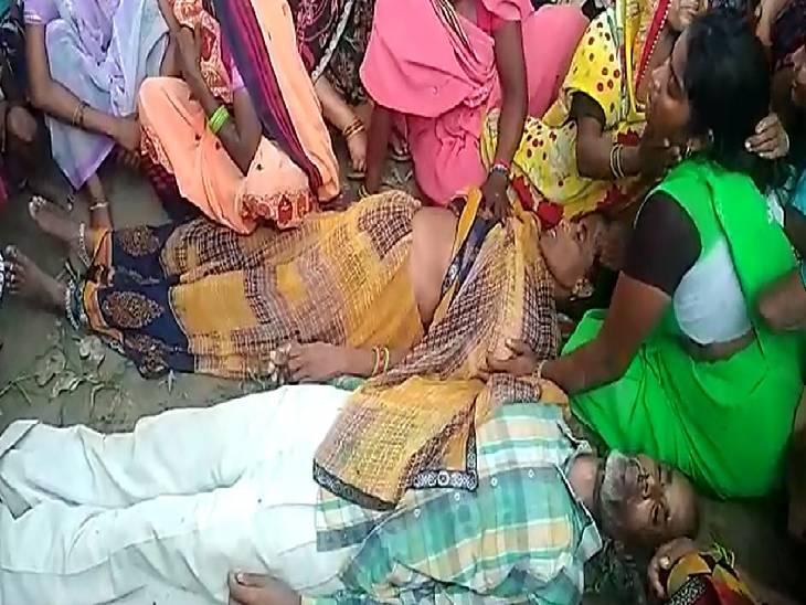 सास- ससुर के बीच होते थे झगड़े, ग्रामीणों ने कहा- बहू के चाल-चलन को लेकर होता था गृह क्लेश ; तंग आकर लगाई फांसी|आगरा,Agra - Dainik Bhaskar