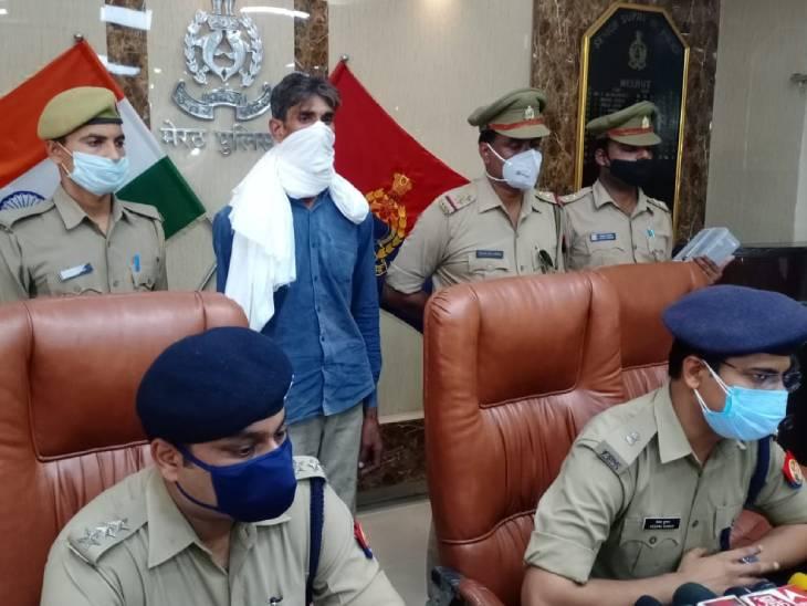 सौतेला भांजे ने ही की थी हत्या,आरोपी बोला-मामा हमारे घर मे दखल देता था, इसलिए किया मर्डर मेरठ,Meerut - Dainik Bhaskar