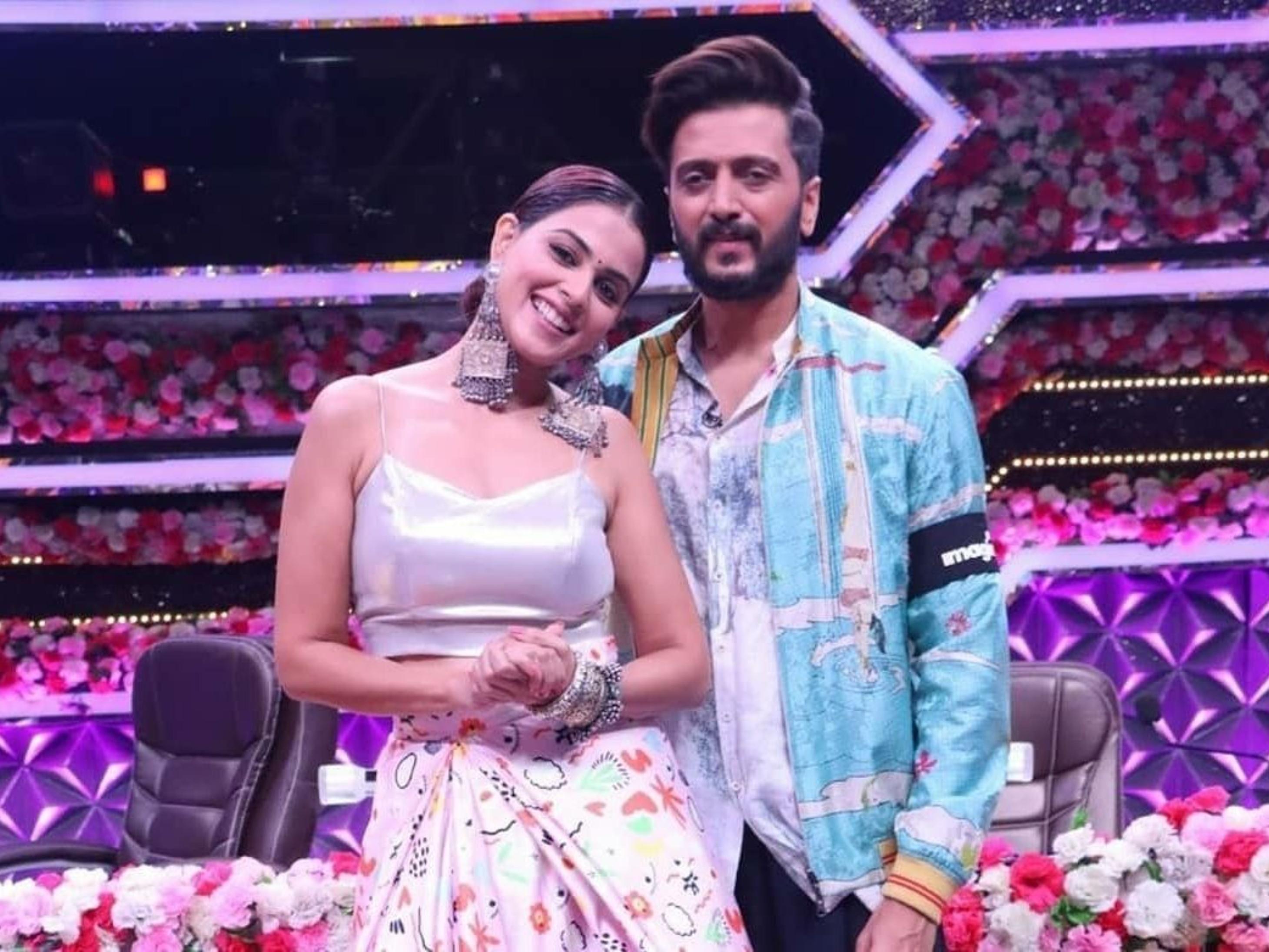 जेनेलिया डिसूजा का खुलासा- अपनी शादी में रितेश देशमुख को 8 बार छूने पड़े थे दुल्हन के पैर|टीवी,TV - Dainik Bhaskar