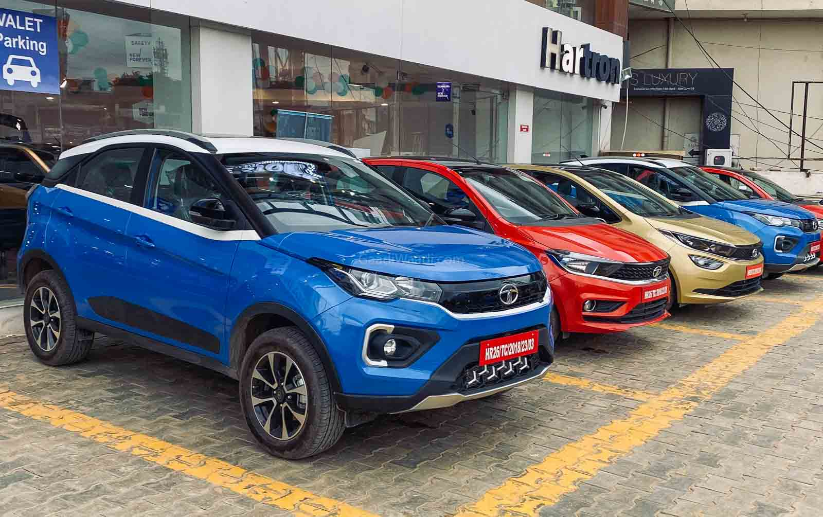 Tata Motors' passenger vehicle segment registered a growth of 25% in July as compared to June.