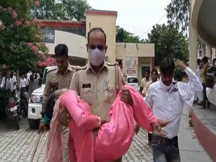 दहेज के लिए प्रताड़ित पत्नी को जब FIR के बाद भी नहीं मिला न्याय, तो मायूस होकर किया आत्महत्या का प्रयास|मुरादाबाद,Moradabad - Dainik Bhaskar