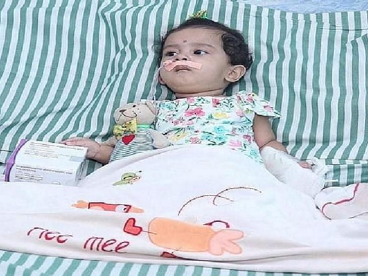 11 महीने की बच्ची की मौत; उसे दुर्लभ बीमारी थी, माता-पिता ने अमेरिका से इंजेक्शन मंगवाया था देश,National - Dainik Bhaskar