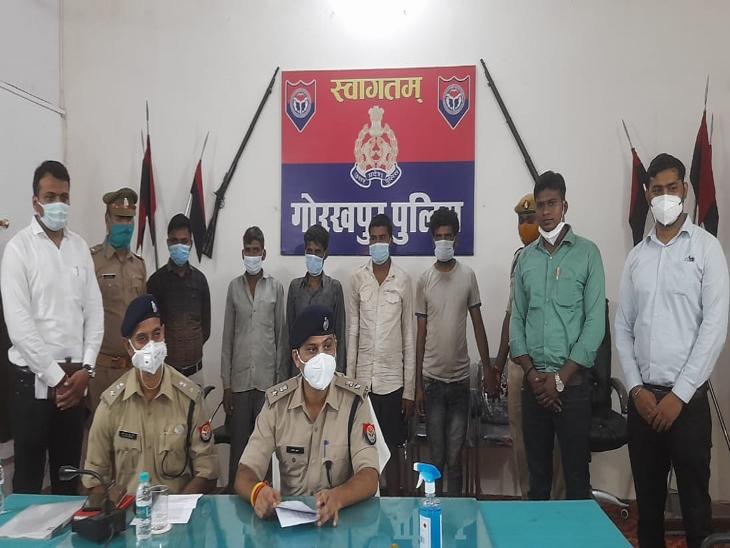 BJP विधायक, SSP और एडवोकेट की आईडी हैक की थी, गोरखपुर में 80 लाख की ठगी; हैकर्स में 15-16 साल के बच्चे भी शामिल|गोरखपुर,Gorakhpur - Dainik Bhaskar