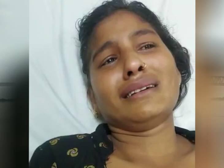 दूध को लेकर विवाद हुआ तो पति ने बीच सड़क पर पत्नी को पीटा, गुस्से में पत्नी फांसी के फंदे से लटक गयी|मेरठ,Meerut - Dainik Bhaskar