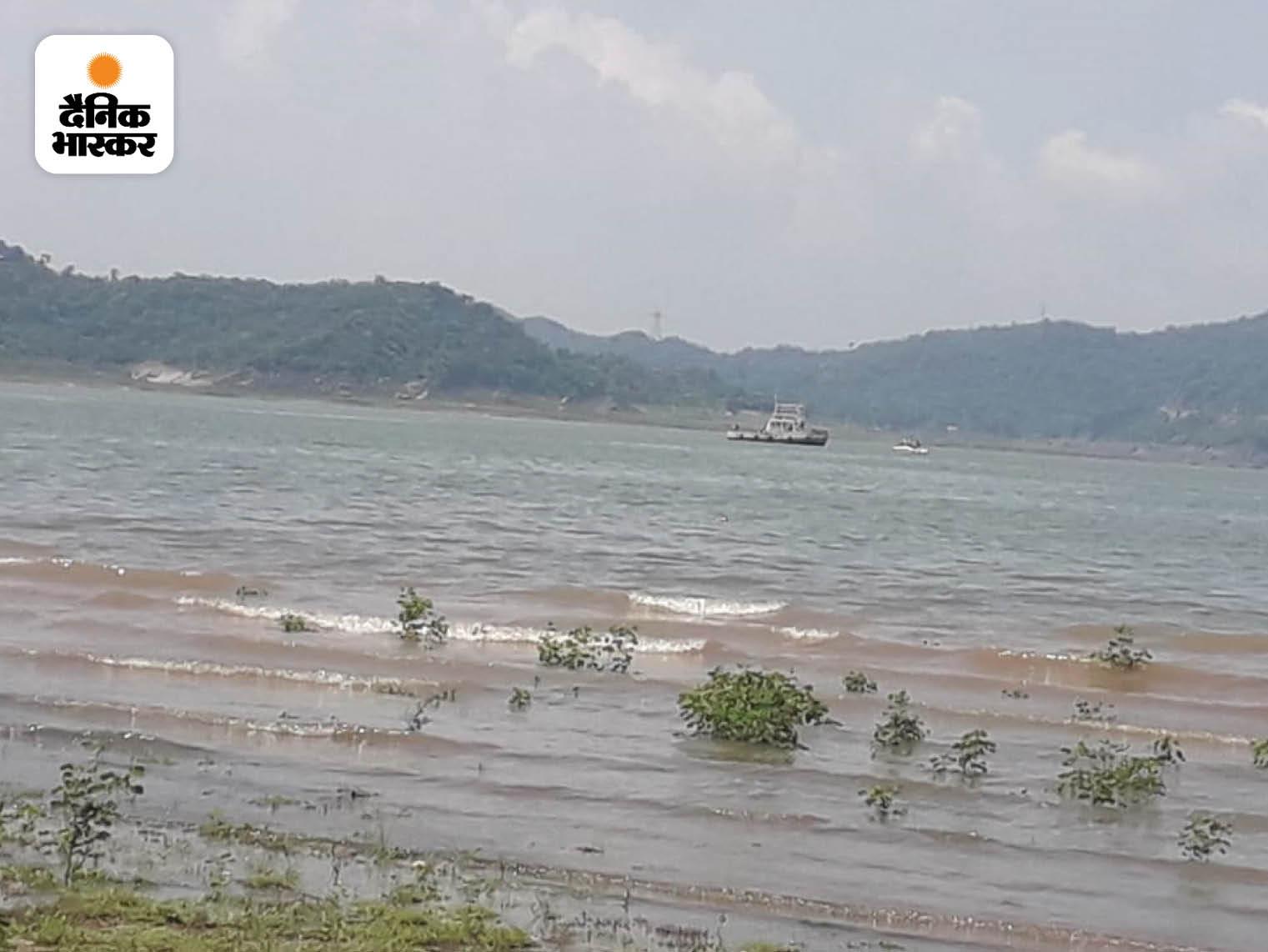 पठानकोट के पास रणजीत सागर डैम, जहां आर्मी का हेलिकॉप्टर क्रैश हुआ।