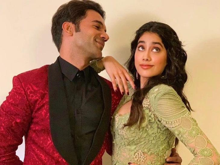 रूही अफ्जा के बाद फिर साथ दिखेगी राजकुमार राव और जान्हवी कपूर की जोड़ी, शरण शर्मा के निर्देशन में निभाएंगे क्रिकेटर का किरदार बॉलीवुड,Bollywood - Dainik Bhaskar