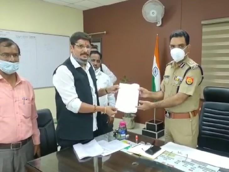 अधिवक्ता ने भारतीय ब्राम्हण महासभा के राष्ट्रीय अध्यक्ष के खिलाफ पुलिस कमिश्नर को दी तहरीर, जांच के बाद होगी एफआईआर|कानपुर,Kanpur - Dainik Bhaskar