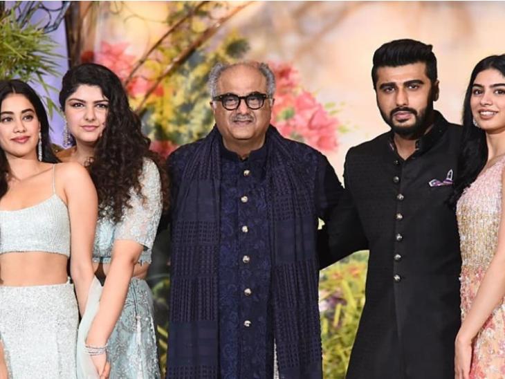 अर्जुन कपूर ने पिता बोनी कपूर से अपने रिश्ते पर की बात, बोले- जान्हवी और खुशी की वजह से मैं अपने पिता के और करीब आ पाया हू्ं बॉलीवुड,Bollywood - Dainik Bhaskar