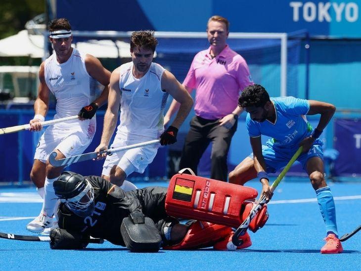 टोक्यो ओलिंपिक में भारतीय पुरुष हॉकी टीम फाइनल में जाने से चूकी, अब ब्रॉन्ज के लिए खेलेगी मुकाबला|टोक्यो ओलिंपिक,Tokyo Olympics - Dainik Bhaskar