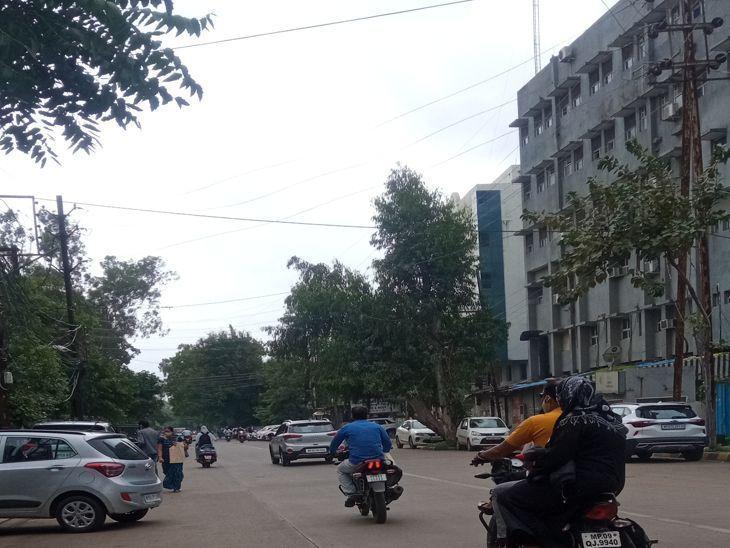 इंदौर में अब 8 तक रिमझिम ही, फसलों को अभी नुकसान नहीं इंदौर,Indore - Dainik Bhaskar