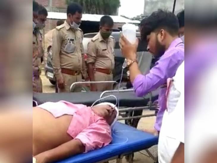 दबंगों ने घर में घुसकर की पिटाई, मदद के लिए पहुंचे ग्रामीणों पर की थी 15 राउंड फायरिंग; 24 घंटे बाद इलाज के दौरान हुई मौत|अमेठी,Amethi - Dainik Bhaskar