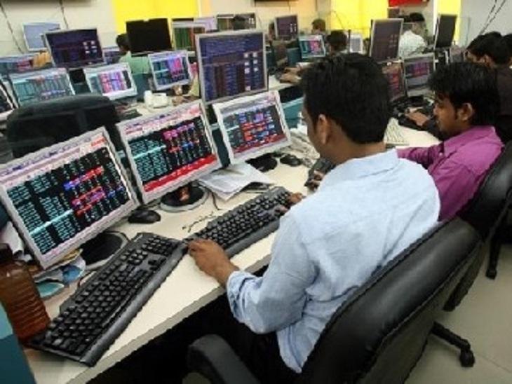 रिकॉर्ड हाई पर बाजार, सेंसेक्स 54600 और निफ्टी 16300 के पार, IT शेयर चमके बिजनेस,Business - Dainik Bhaskar