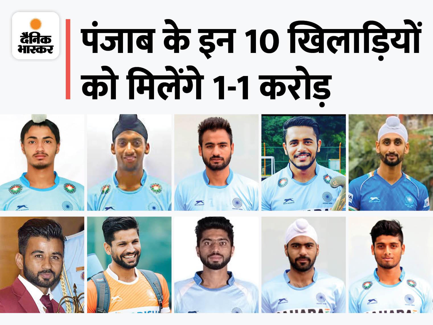 टोक्यो ओलिंपिक में ब्रॉन्ज मेडल जीतने पर खेल मंत्री ने किया ऐलान, बोले- सूबे के इन खिलाड़ियों पर सभी को नाज|लुधियाना,Ludhiana - Dainik Bhaskar
