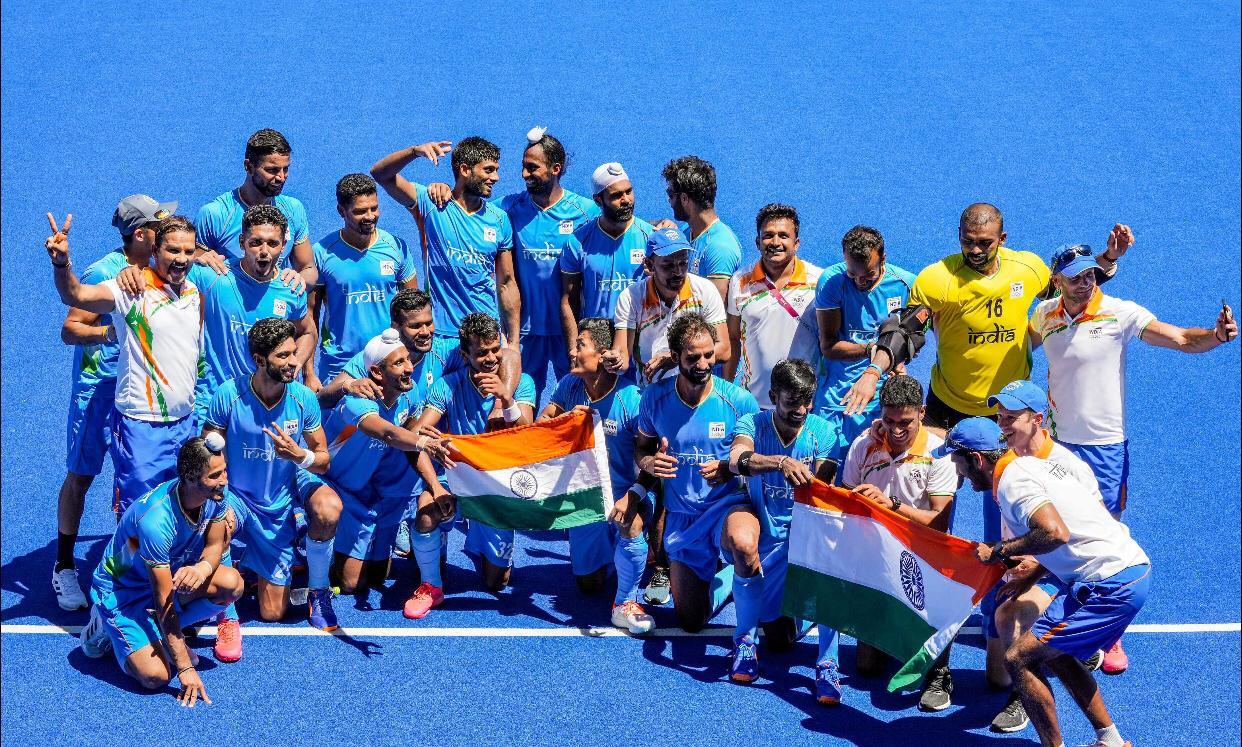 टोक्यो ओलिंपिक में ब्रॉन्ज जीतने वाली टीम के 9 प्लेयर निकले जालंधर की इसी एकेडमी से; कप्तान मनप्रीत समेत 3 खिलाड़ी मिट्ठापुर गांव के|जालंधर,Jalandhar - Dainik Bhaskar
