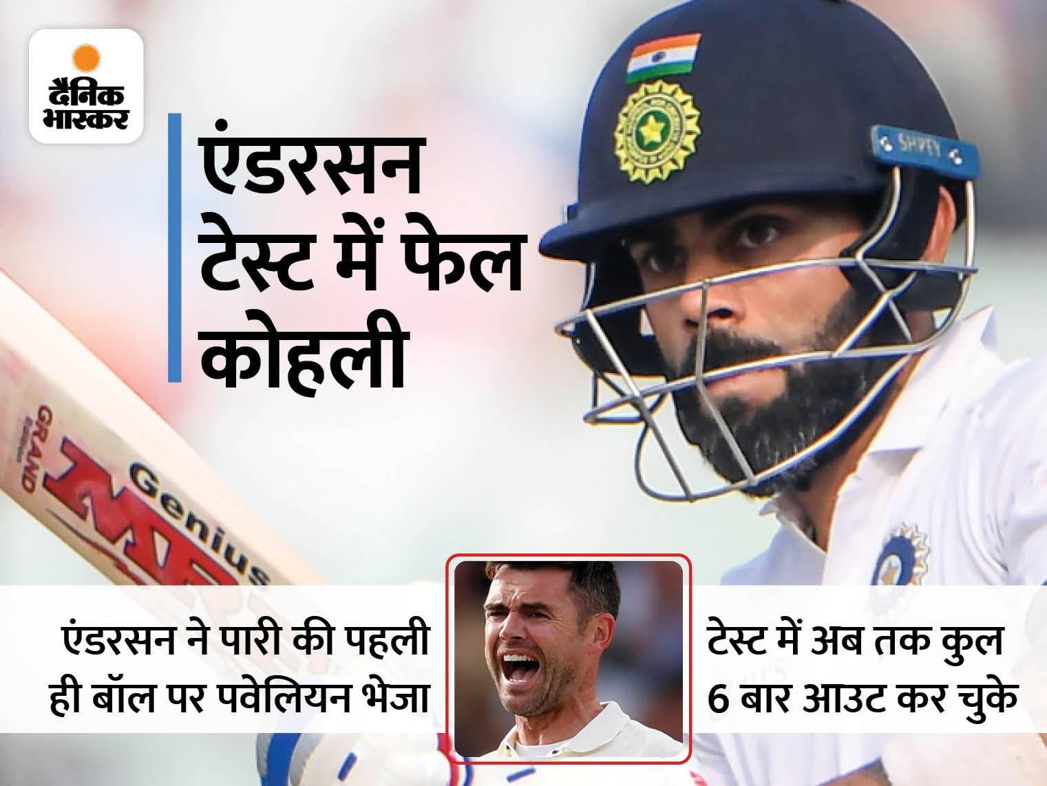 ट्रेंट ब्रिज में बारिश के कारण तीसरी बार खेल रुका; पहले ब्रेक के बाद 1 और दूसरे के बाद 2 बॉल का ही खेल हुआ क्रिकेट,Cricket - Dainik Bhaskar