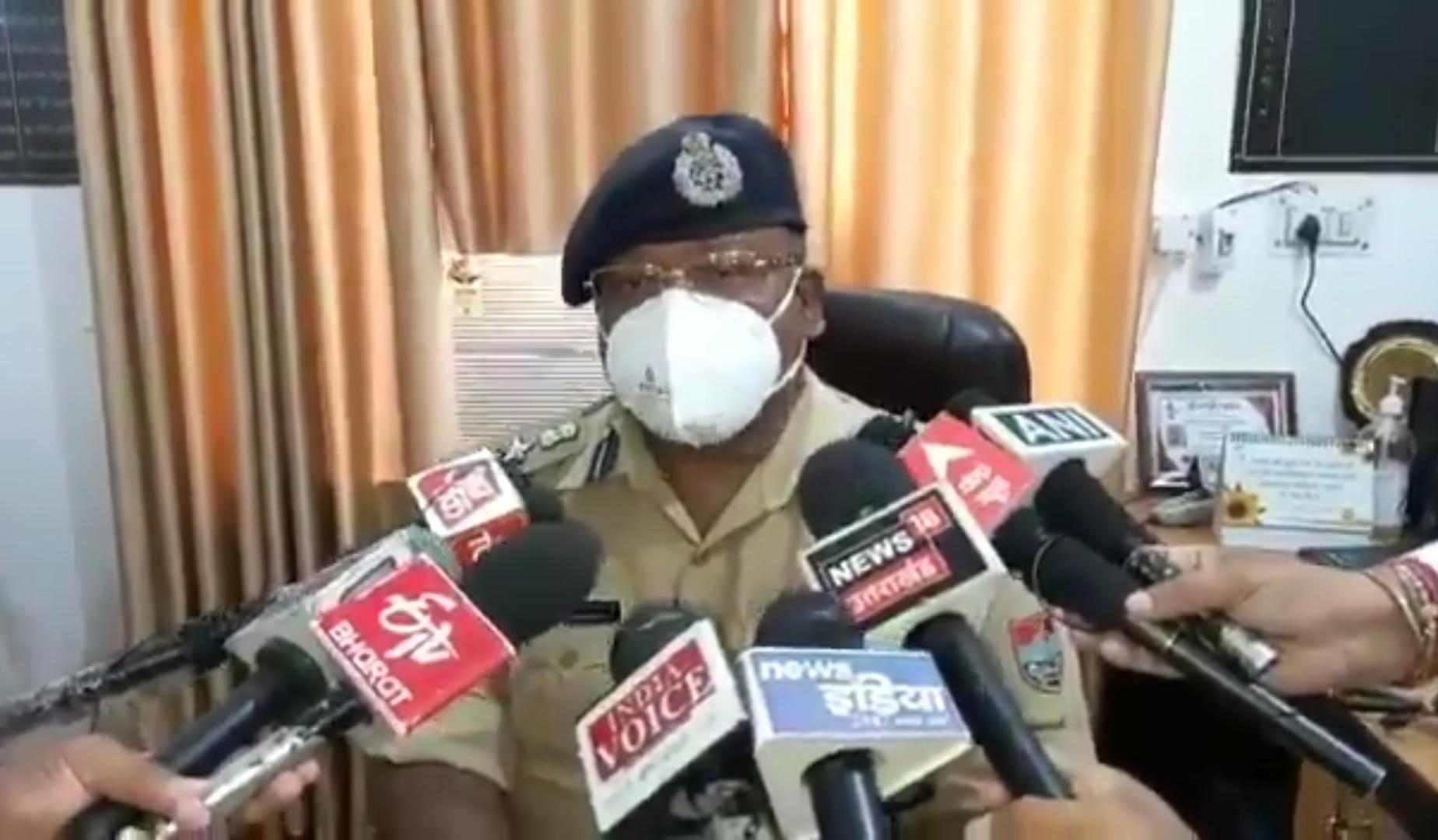 वंदना कटारिया के घर हुए हंगामे में पुलिस कार्रवाई के बारे में SSP ने बताया।