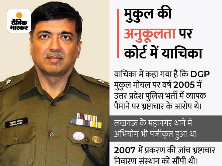 इलाहाबाद हाईकोर्ट में दायर हुई जनहित याचिका, कहा- 2005 में हुई पुलिस भर्ती में भ्रष्टाचार के आरोपी रहे हैं गोयल|प्रयागराज (इलाहाबाद),Prayagraj (Allahabad) - Dainik Bhaskar