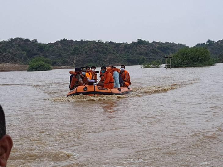 6 राज्यों के 23 जिलों में भारी बारिश होने की आशंका, मौसम विभाग ने येलो अलर्ट जारी किया; मध्य प्रदेश में बाढ़ के बाद तबाही का मंजर|देश,National - Dainik Bhaskar