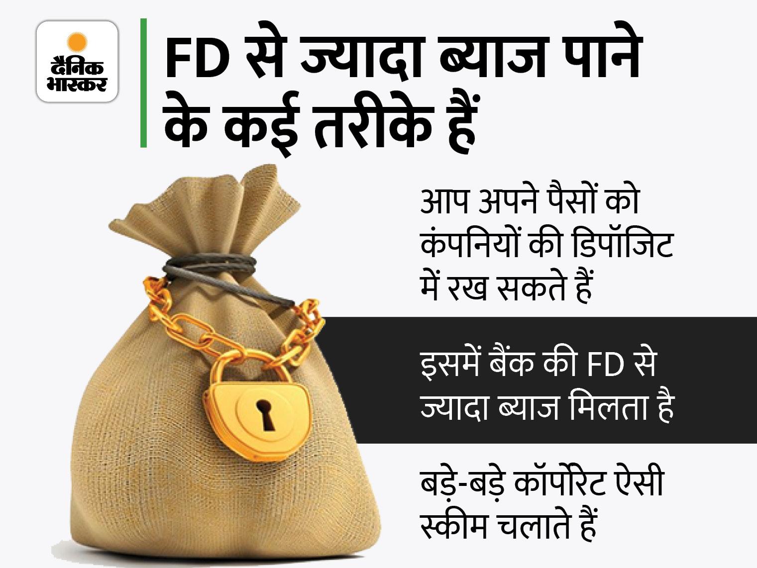 बैंक FD पर आपको कम मिलता रहेगा ब्याज, ज्यादा ब्याज के लिए नया तरीका अपनाएं|बिजनेस,Business - Dainik Bhaskar