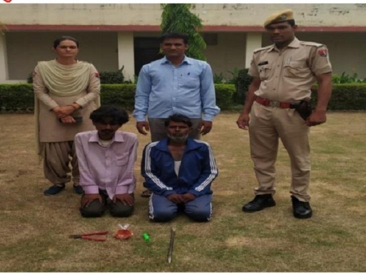 YouTube पर वीडियो देखकर एटीएम उखाड़ना सीखा, कर्ज चुकाने के लिए बनाई योजना, गश्त करते हुए रात को पुलिस ने पकड़ा जयपुर,Jaipur - Dainik Bhaskar