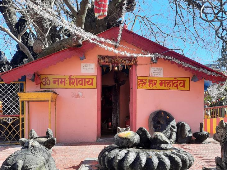 बद्रीनाथ धाम के कपाट बंद होने के बाद शंकराचार्य ने ज्योतेश्वर महादेव मंदिर में किया था तप|धर्म,Dharm - Dainik Bhaskar