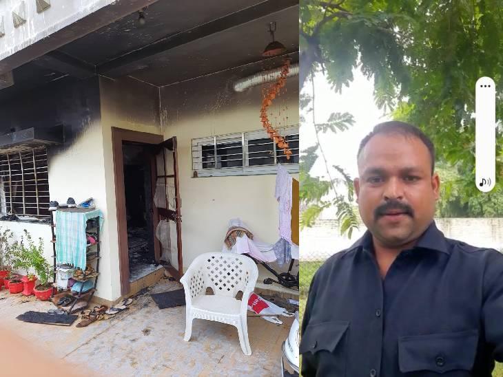 गार्ड ने कहा- बेटी को कलेजे से लगाकर मां पुकारती रही- कोई तो बचा लो... दोनों नहीं बचीं; हथौड़े से गेट तोड़ा तब बच्ची की नानी को बचा सके|जबलपुर,Jabalpur - Dainik Bhaskar