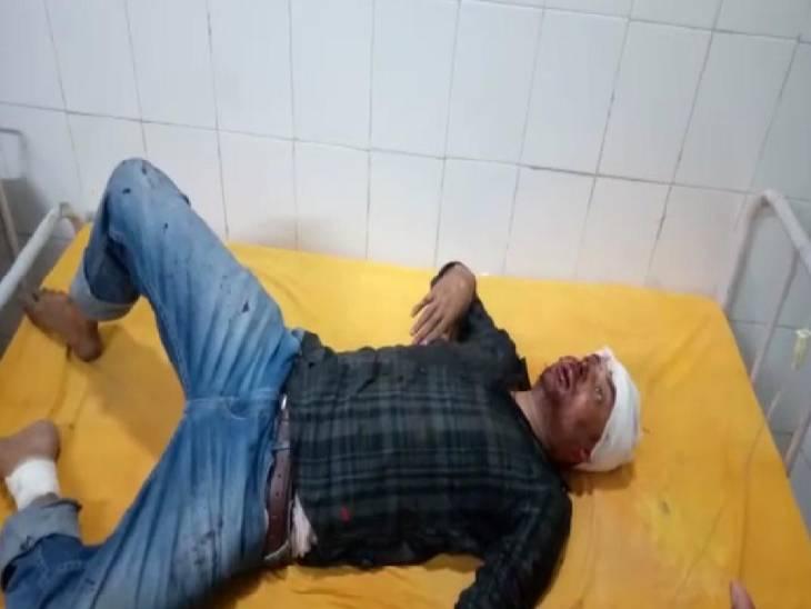 सीतापुर में तीन बाइक सवार बदमाशों ने गुटखा डिस्ट्रीब्यूटर को मारी गोलियां। - Dainik Bhaskar