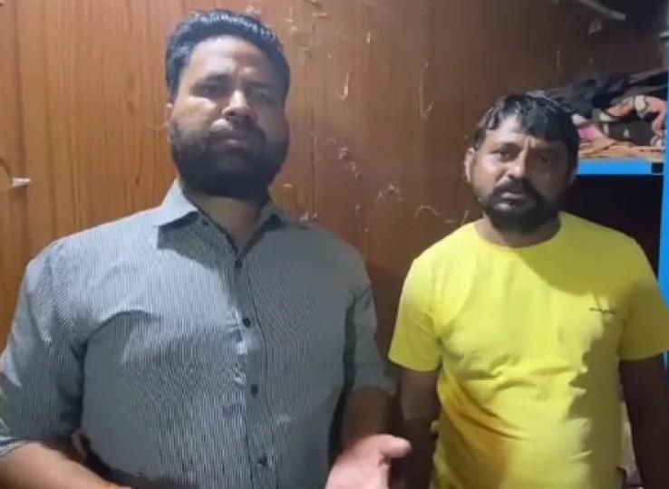सादी वर्दी, बिना नंबर की गाड़ी में आई DST टीम को रोका तोकर्मचारियों को पीटा, सिर पर पिस्तौल तान दी; CCTV में कैद हुई घटना नागौर,Nagaur - Dainik Bhaskar
