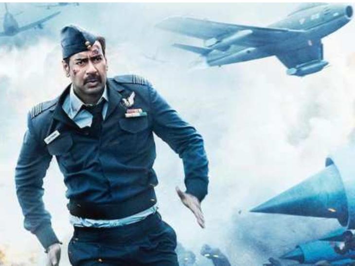 डायरेक्टर अभिषेक दुधइया ने बताया- अजय देवगन ने छह फुट ऊंचे लैंप पोस्ट के फानूस को एक ही बार में पत्थर से मार बुझा डाला|बॉलीवुड,Bollywood - Dainik Bhaskar