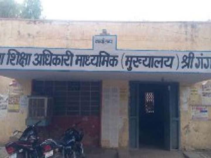 रणजीतसिंह डीईओ हैडक्वार्टर सैकंडरी व गिरजेश कांत डीईओ एलीमेंट्री|श्रीगंंगानगर,Sriganganagar - Dainik Bhaskar