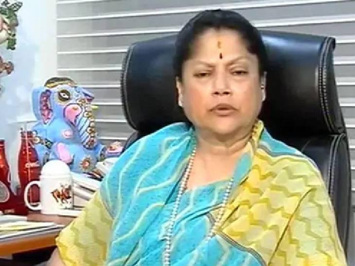 यशोधरा राजे सिंधिया का सर्वे कर्मचारियों से कहा- लोगों से कहें नुकसान का वीडियो बनाएं|शिवपुरी,Shivpuri - Dainik Bhaskar