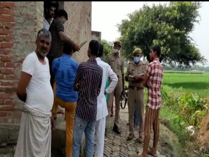 पुलिस कर रही घटना की जांच। - Dainik Bhaskar